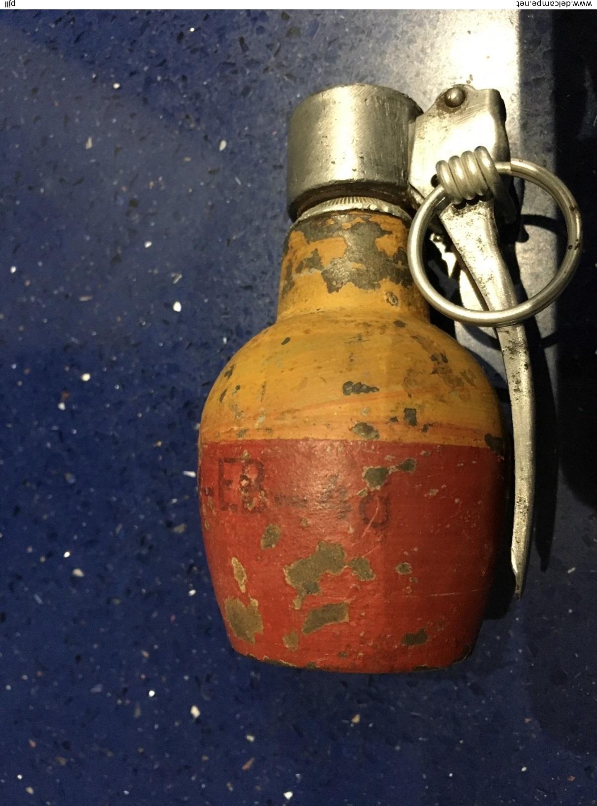 209 001 grenade francaise mle 37 ba mle 35 date 1946