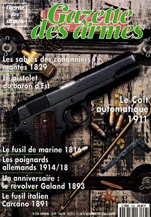 30739 gazettedesarmes 238 couverture 3