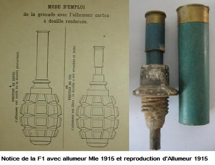 Allumeur Mle  1915
