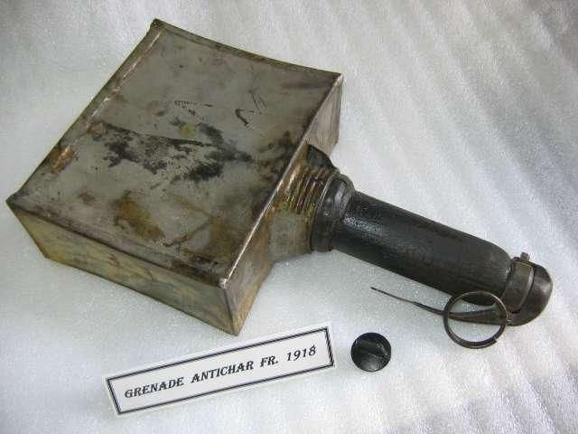 Grenade antichar Mle 1918 (face)