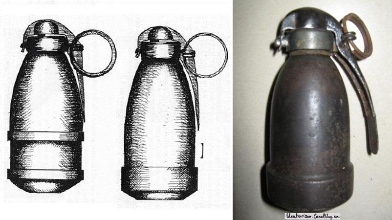 Delhomme grenade mixte