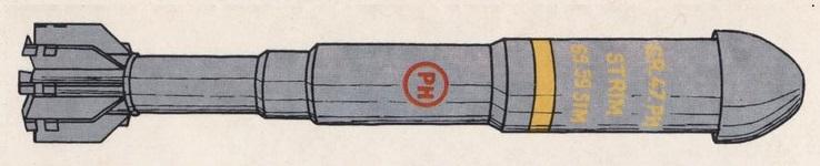 Grenade a fusil fumigene strim f3