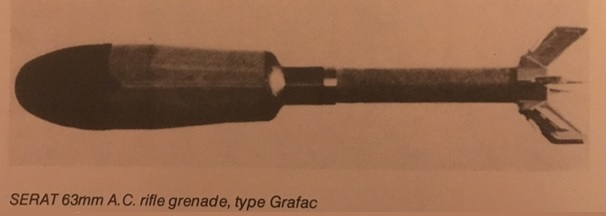 Grenade antichar de 63 mm type grafac serat