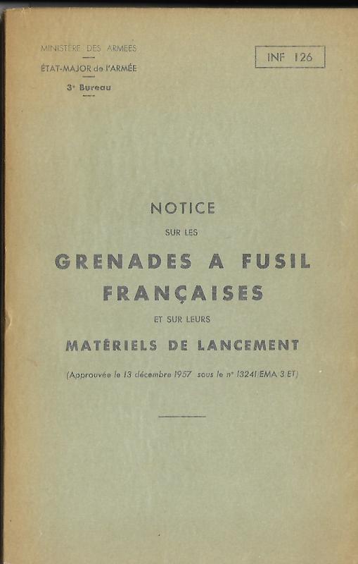 Grenades a fusil 1957 garde