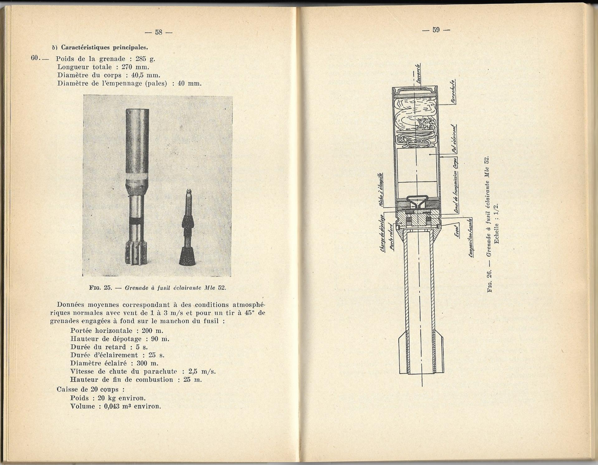 Grenades a fusil 1957 p58 59 b