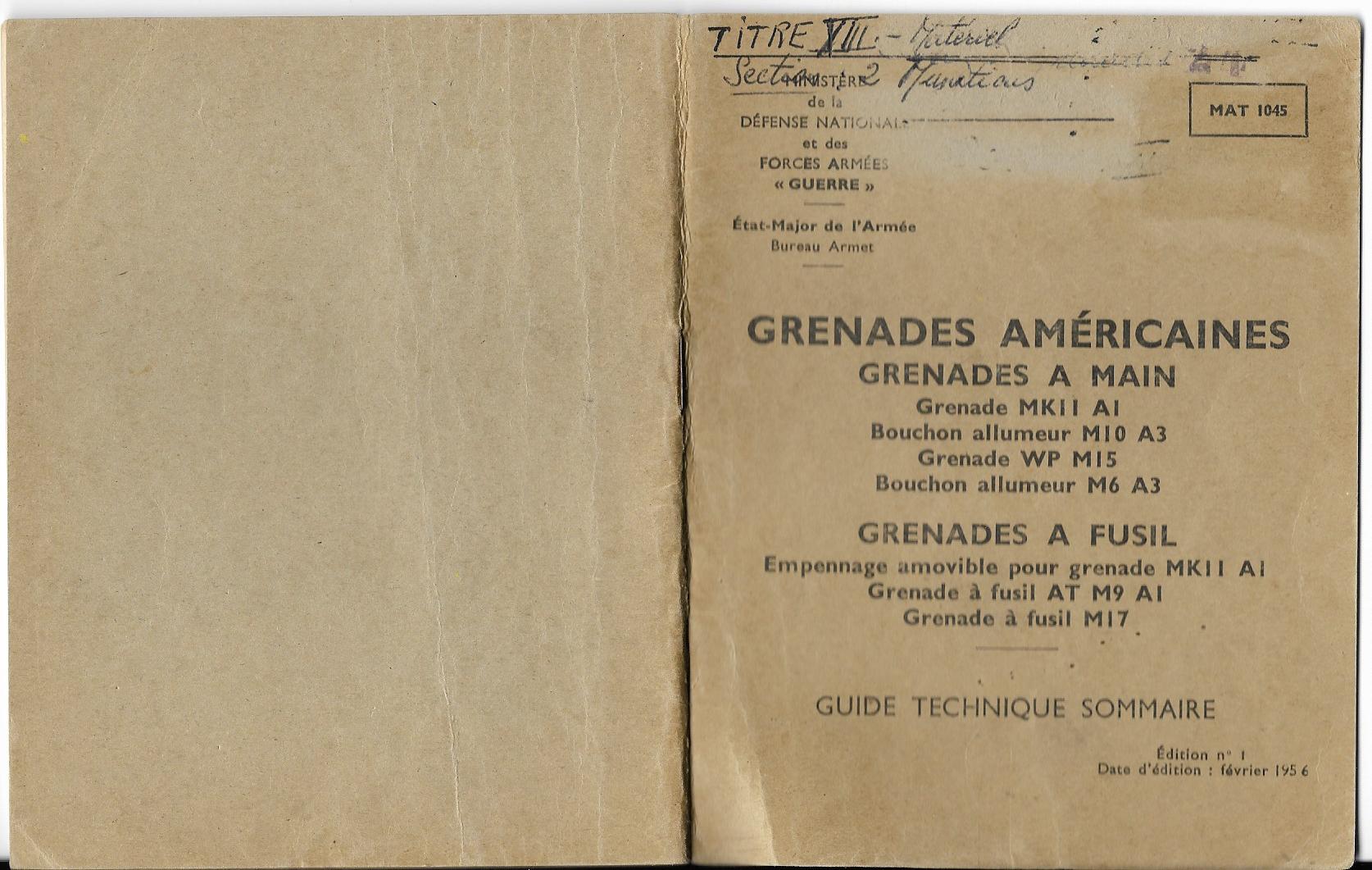 Grenades americaines