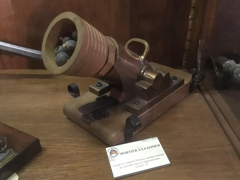 Maquette d appareil moison musee de l artillerie draguignan
